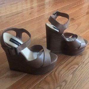 DSW Shoes - Wooden Wedges